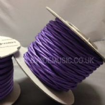 TWIST 2 Core Braided Fabric Cable Lighting Lamp Flex Vintage - PURPLE